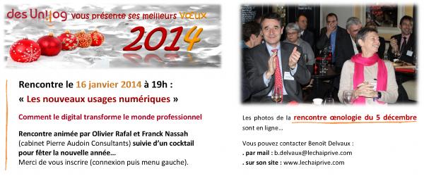 Message 11 janvier 2014
